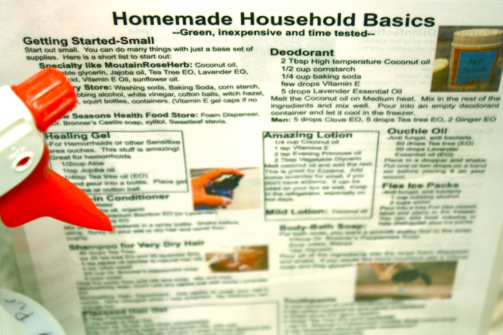 Household Quick Reference