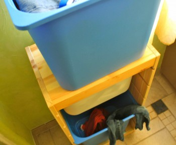 Bath: Dirty Laundry Organizer