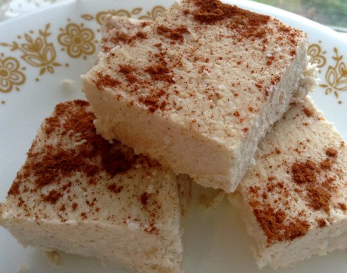 White Pumpkin Fudge