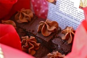 GF DF EG SF Double Chocolate Cake