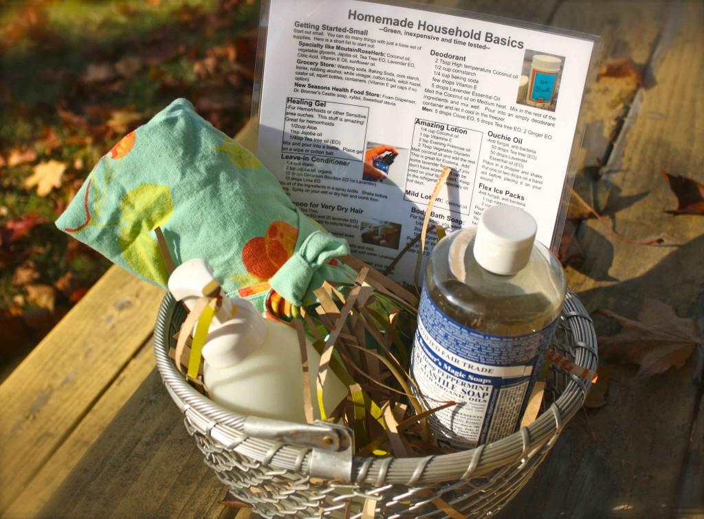 Household Gift Basket