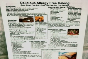 Delicious Allergy Free Baking Quick Reference