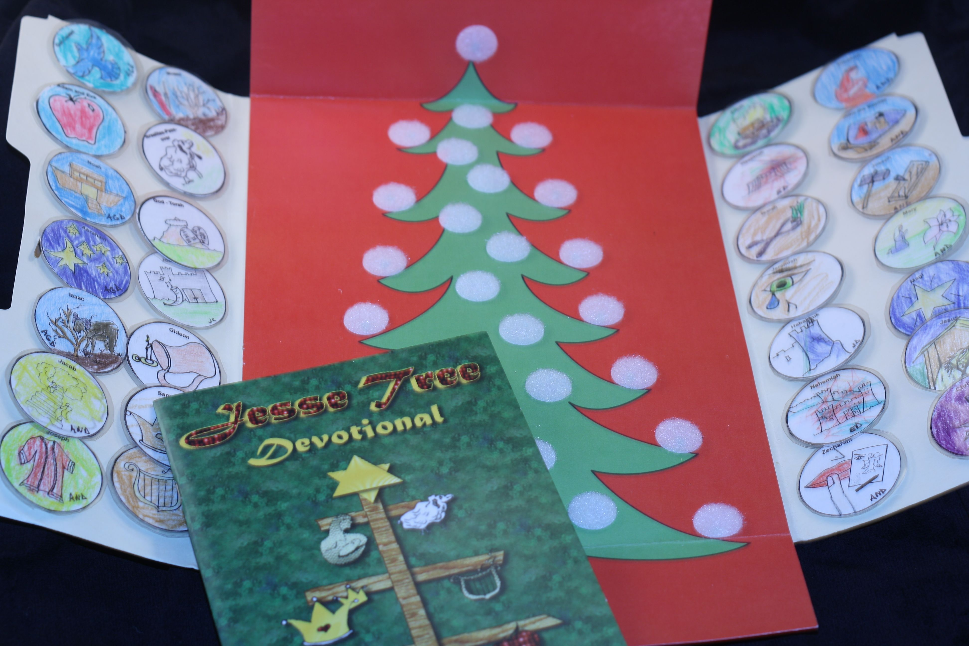 Jesse Tree Devotional Lapbook