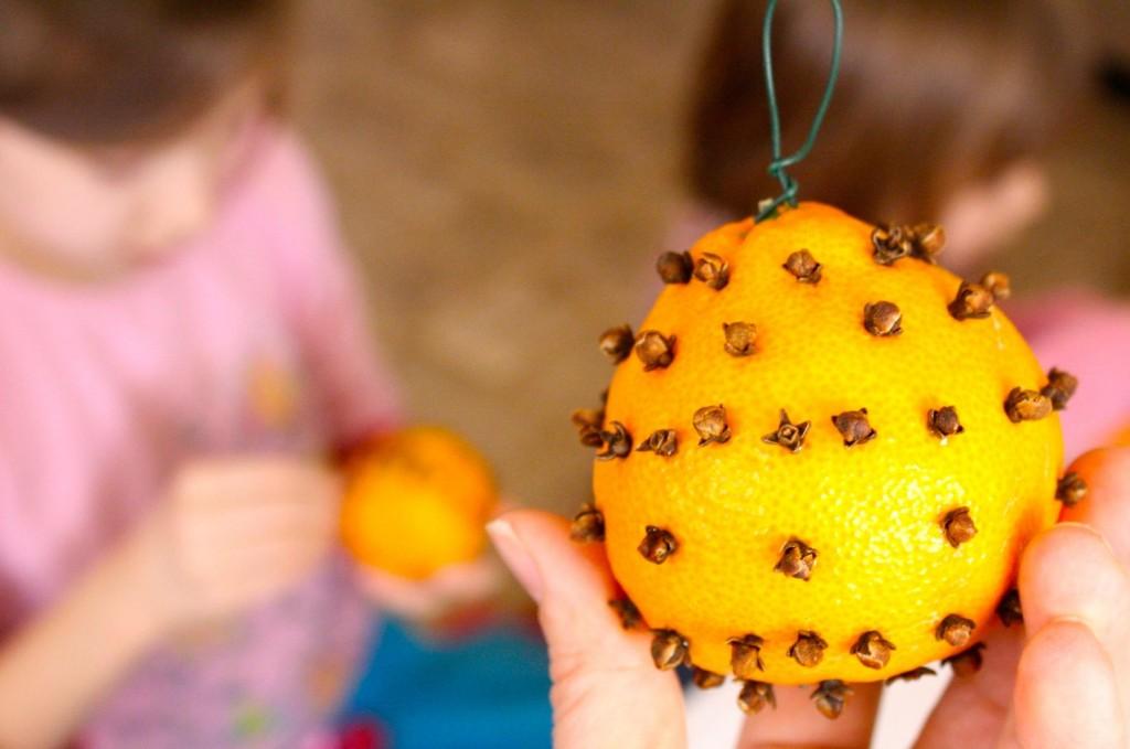 Orange Clove Balls