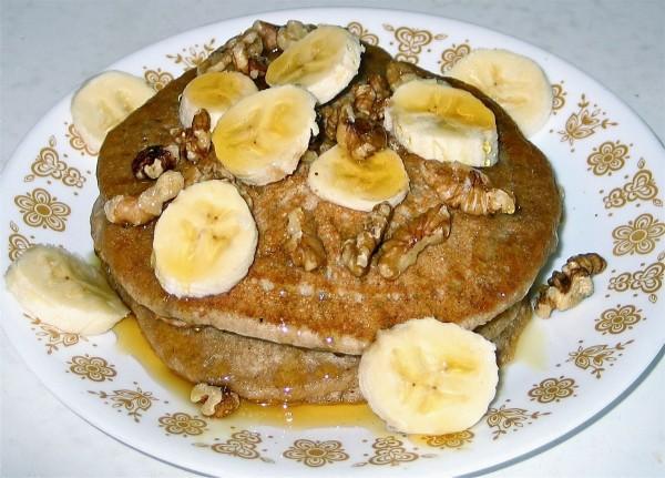 Buckwheat Teff Pancakes